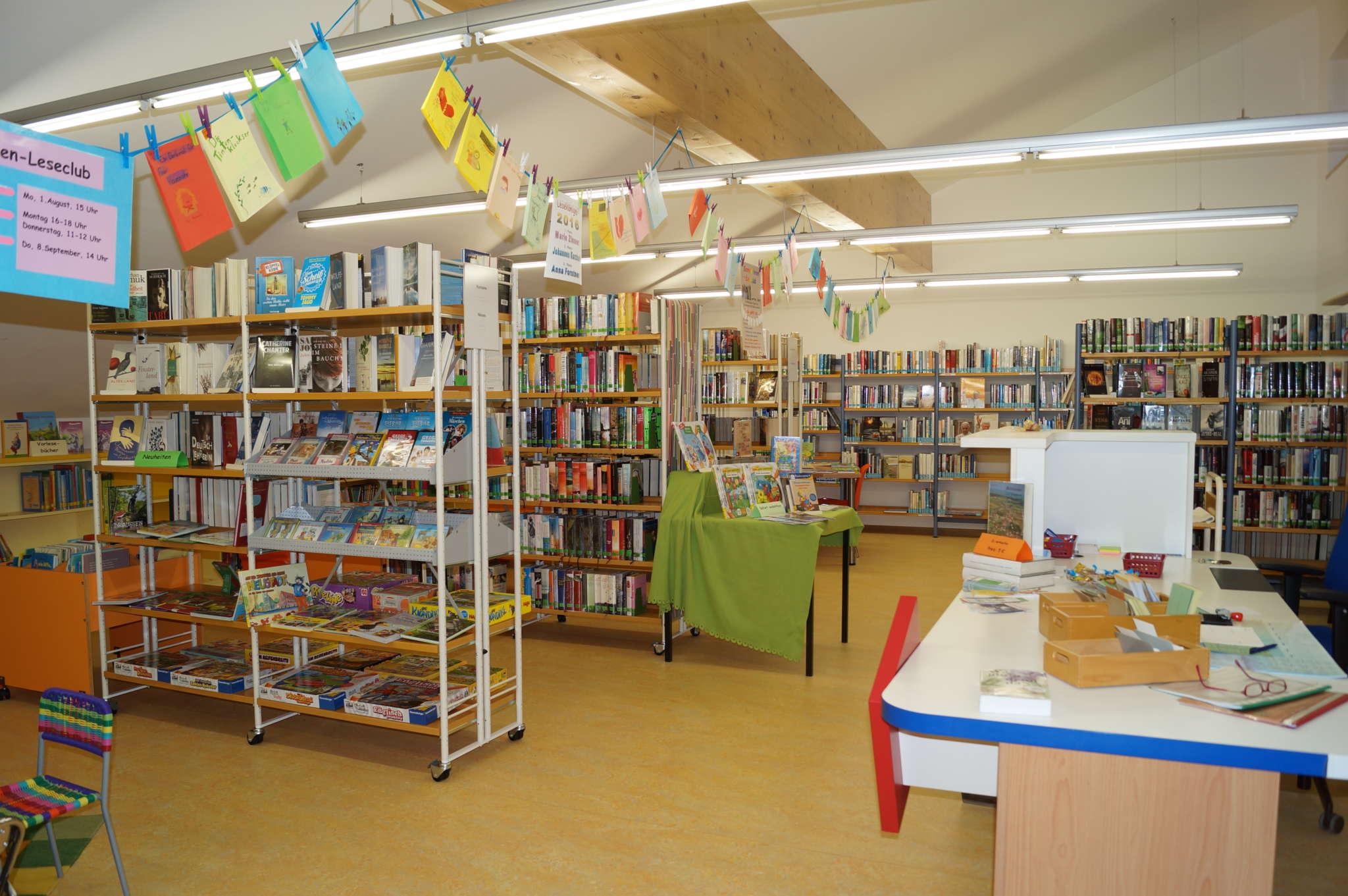 Bücherei Mühlhausen